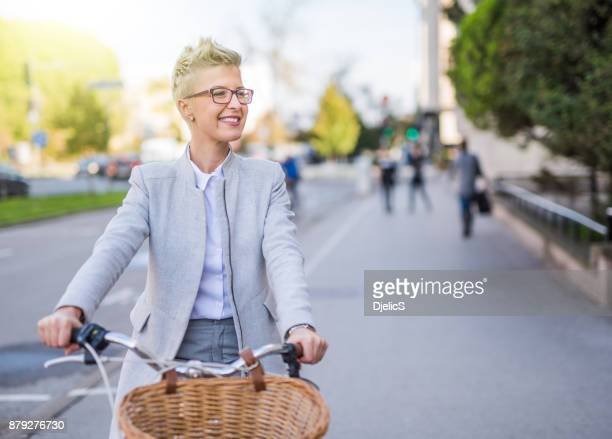 biking to work is the way to go. - bank account stock pictures, royalty-free photos & images