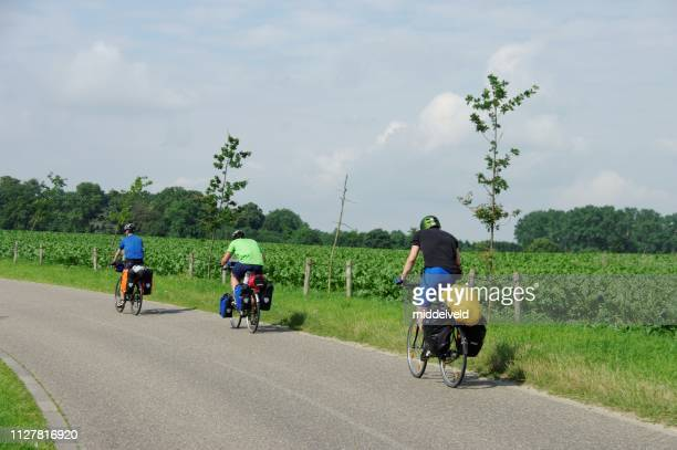 サイクリング休暇 - オランダ リンブルフ州 ストックフォトと画像