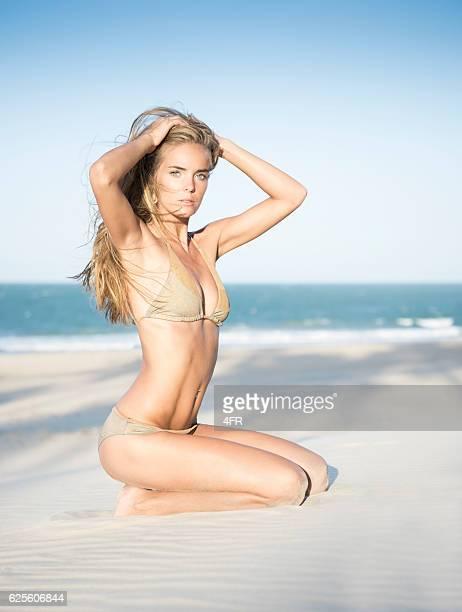 Bikini Beauty at the Beach, Fashion Model