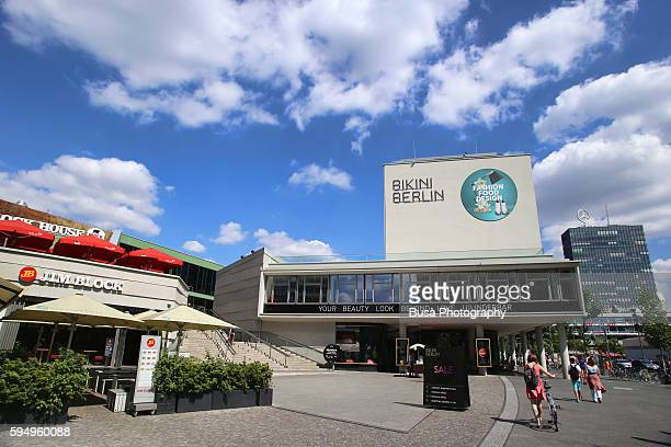 Bikini Berlin, fashionable shopping mall in City West, district of Charlottenburg, Berlin, Germany