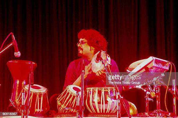 Bikram Ghosh Tabla Player performing in Kolkata West Bengal India