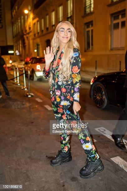 Bilal Hassani arrives at Sidaction Gala Dinner 2020 At Pavillon Cambon on January 23 2020 in Paris France