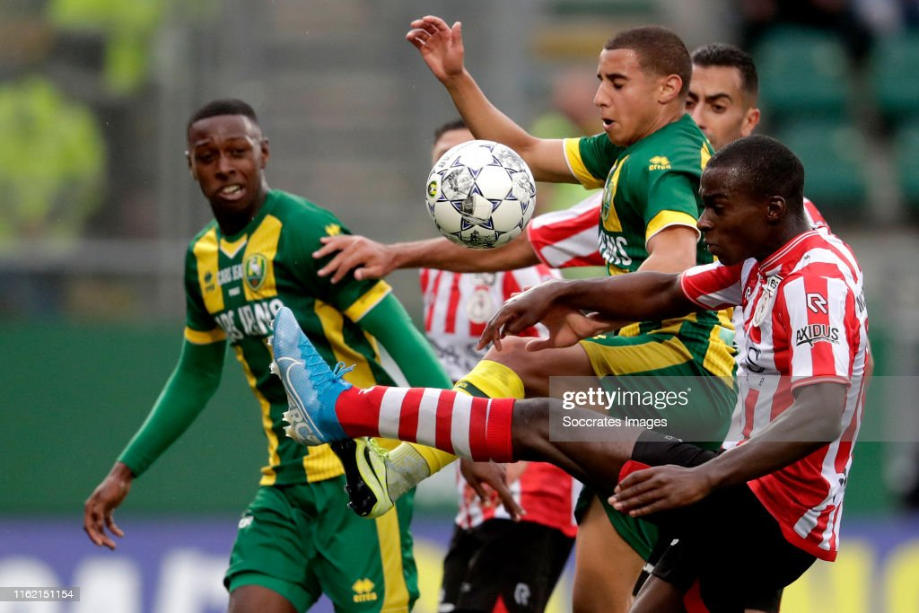 Bilal Ould Chikh Of Ado Den Haag Lassana Faye Of Sparta Rotterdam News Photo Getty Images