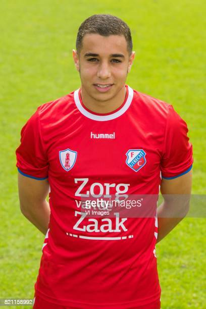 Bilal OuldChikh during the team presentation of FC Utrecht on July 22 2017 at Sportcomplex Zoudenbalch in Utrecht The Netherlands