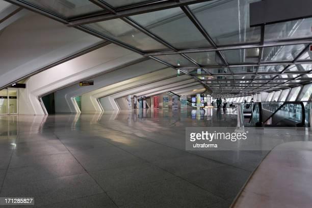 aeroporto de bilbao - bilbao - fotografias e filmes do acervo