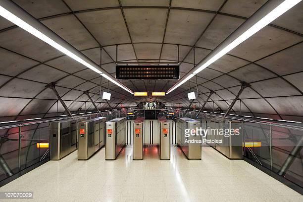 Bilbao underground by Richard Foster
