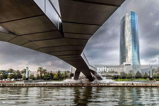 Bilbao Waterfont skyline