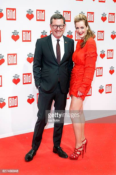 Bild publisher Kai Diekmann and his wife author Katja Kessler attend the Ein Herz Fuer Kinder gala on December 3 2016 in Berlin Germany