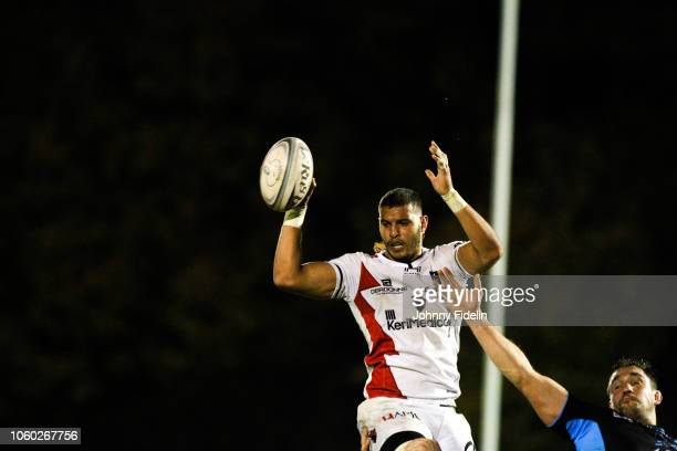 Bilel Taieb of Oyonnax during the Pro D2 match between Massy and Oyonnax on November 9 2018 in Massy France