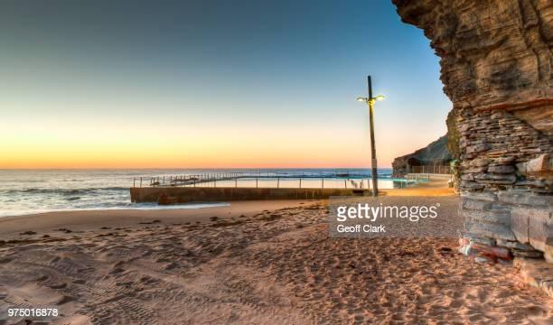Bilgola Beach at sunrise, New South Wales, Australia