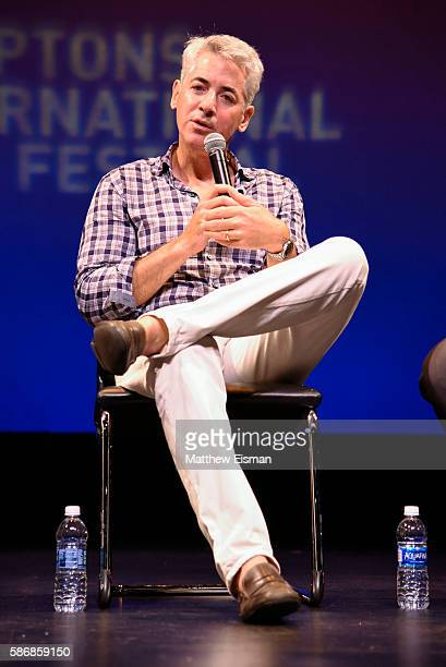 """Bill Ackman attends the Hamptons International Film Festival SummerDocs Series screening of """"Betting On Zero"""" at Guild Hall on August 6, 2016 in East..."""
