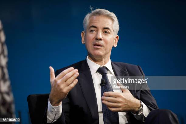 Bill Ackman, chief executive officer of Pershing Square Capital Management LP, speaks during the WSJ D.Live global technology conference in Laguna...
