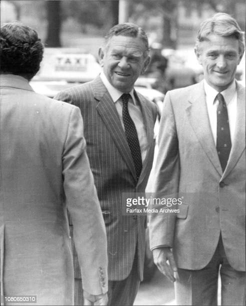 Bill Allen's Tribunal at RecQuarie street today NSW Governor Sir Roland March 18 1982