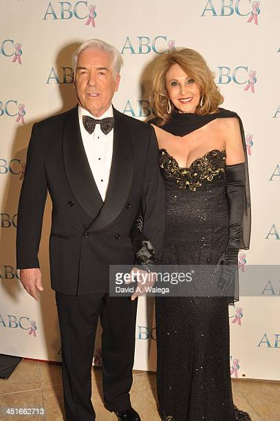 Bill and wife Roseann Patterson arrive at The Beverly Hilton Hotel for the 24th Annual Talk Of The Town Benefit Gala on November 23 2013 in Beverly...