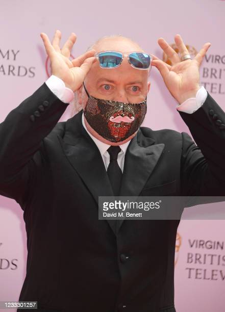 Bill Bailey arrives at the Virgin Media British Academy Television Awards 2021 at Television Centre on June 6, 2021 in London, England.