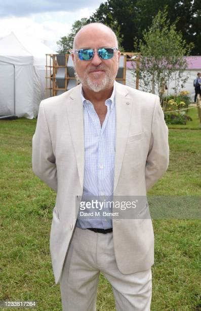 Bill Bailey attends a VIP Preview of the RHS Hampton Court Palace Garden Festival 2021 at Hampton Court Palace on July 5, 2021 in London, England.
