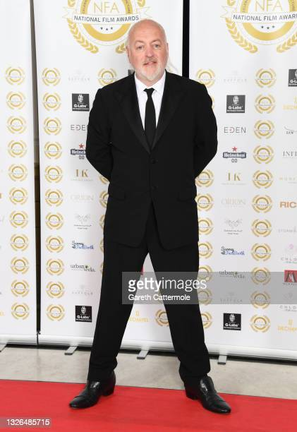 Bill Bailey attends the National Film Awards 2021 held at Porchester Hall on July 1, 2021 in London, England.