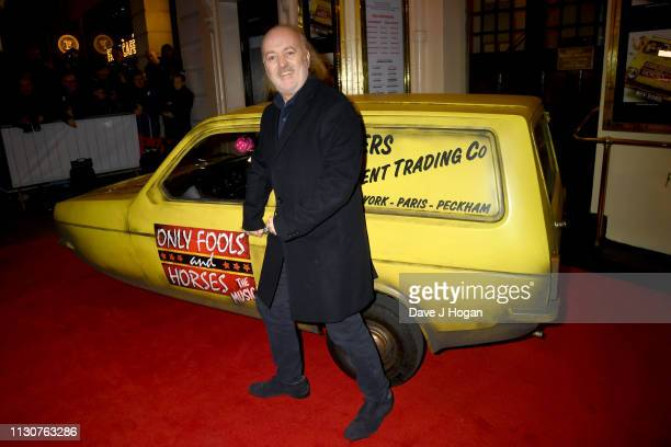 Bill Bailey attends the opening night of Only Fools and Horses The Musical at Theatre Royal Haymarket on February 19 2019 in London England