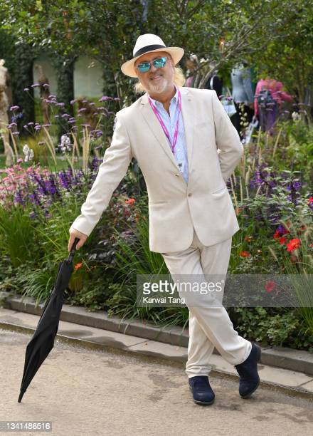 Bill Bailey attends the RHS Chelsea Flower Show on September 20, 2021 in London, England. This year's RHS Chelsea Flower Show was delayed from its...