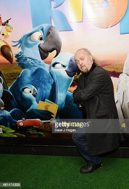 Bill Bailey attends the UK Gala screening of 'Rio 2' at Vue West End on March 30 2014 in London England