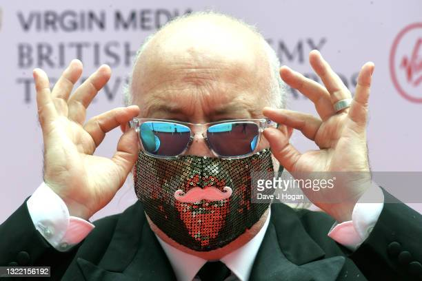 Bill Bailey attends the Virgin Media British Academy Television Awards 2021 at Television Centre on June 06, 2021 in London, England.