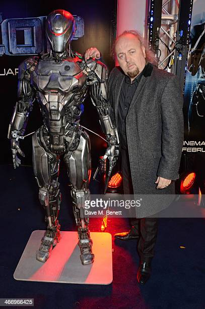 Bill Bailey attends the World Premiere of 'RoboCop' at the BFI IMAX on February 5 2014 in London England