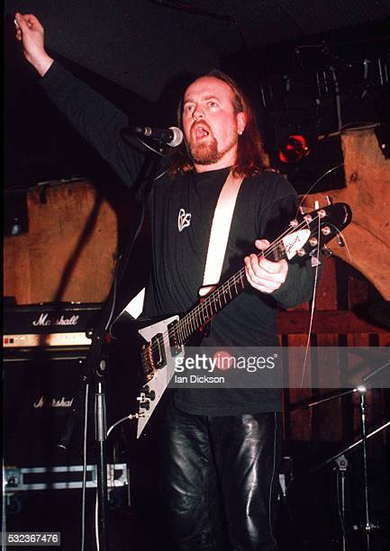 Bill Bailey performing on stage at the Borderline, London, United Kingdom, 1996.