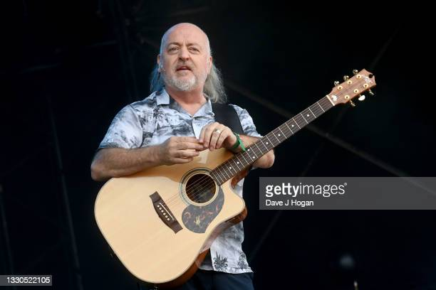 Bill Bailey performs during Latitude Festival 2021 at Henham Park on July 25, 2021 in Southwold, England.