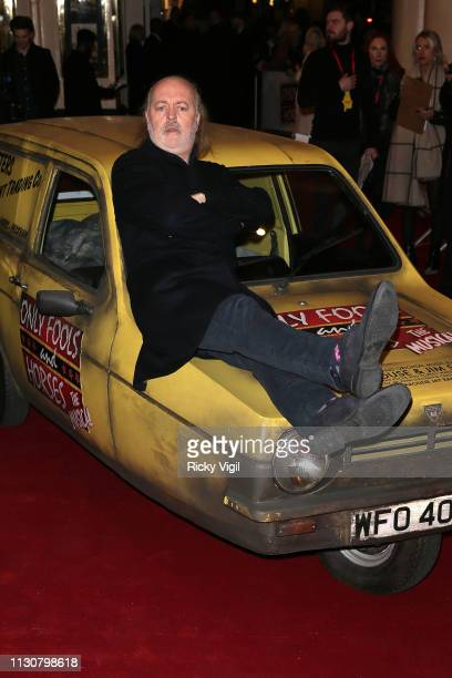 Bill Bailey seen attending the Only Fools and Horses press night at Theatre Royal Haymarket on February 19 2019 in London England