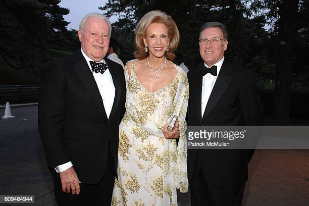 Bill Bartholomay Mai Hallingby and Gregory Long attend THE NEW YORK BOTANICAL GARDEN 2007 Conservatory Ball at New York Botanical Garden on June 7...