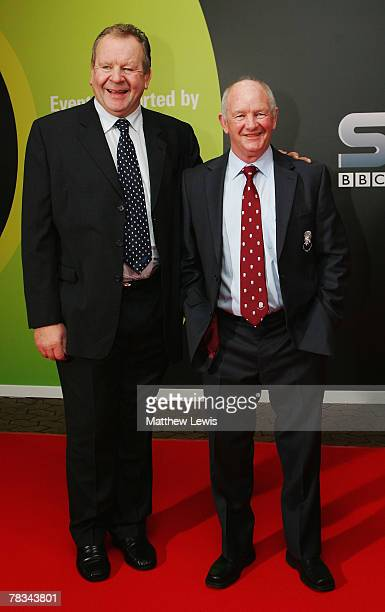 Bill Beaumont and Brian Ashton arrives at the BBC Sports Personality of the Year Awards at the Birmingham NEC on December 09 2007 in Birmingham...
