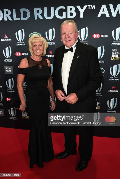 Bill Beaumont World Rugby via Getty Images Chairman and his Wife Hilary attend the World Rugby via Getty Images Awards 2018 at the MonteCarlo...