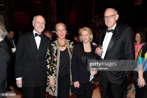 Bill Beekman Bunny Beekman Nick Drexel and Jackie Drexel attend LNHN Honours Geoffrey Bradfield and John Manice at Cipriani 42nd Street on April 18...