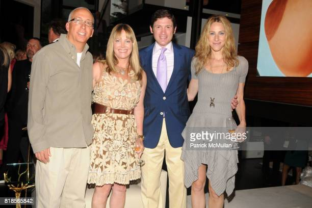 Bill Bell Maria Bell Glenn Fuhrman and Amanda Fuhrman attend AMY JOHN PHELAN host wineCRUSH 2010 for the ASPEN ART MUSEUM at Phelan Residence on...