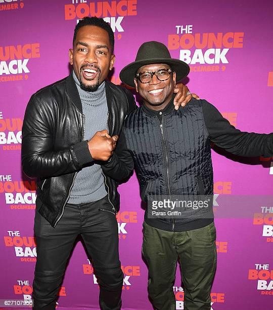 Bill Bellamy and Guy Torry attend 'The Bounce Back' Atlanta Screening at Regal Cinemas Atlantic Station Stadium 16 on December 1 2016 in Atlanta...