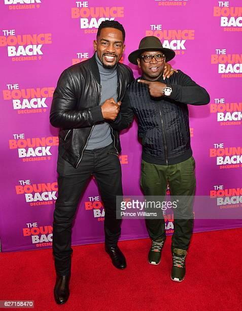 Bill Bellamy and Guy Torry attend 'The Bounce Back' Atlanta screening at Regal Atlantic Station on December 1 2016 in Atlanta Georgia