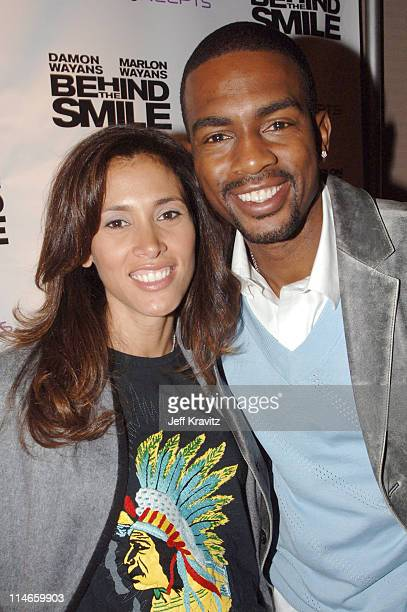 Bill Bellamy and his wife during 2006 US Comedy Arts Festival Aspen Behind the Smile Party at Sky Hotel in Aspen Colorado United States