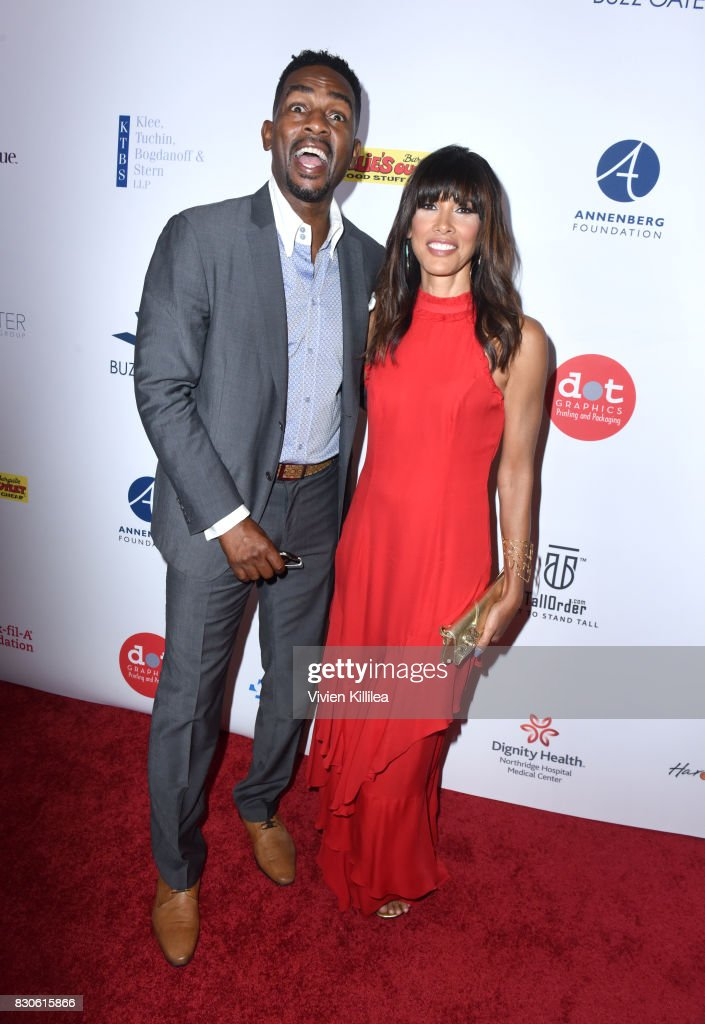 Bill Bellamy and Kristen Baker Bellamy attend the 17th Annual Harold & Carole Pump Foundation Gala at The Beverly Hilton Hotel on August 11, 2017 in Beverly Hills, California.
