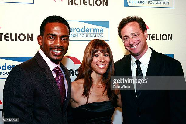 Bill Bellamy and wife and Bob Saget attend the Cool ComedyHot Cuisine Benefit for the Scleroderma Research Foundation at the Four Season's Beverly...