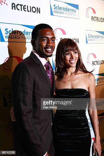 Bill Bellamy and wife attend the Cool ComedyHot Cuisine Benefit for the Scleroderma Research Foundation at the Four Season's Beverly Wilshire Hotel...