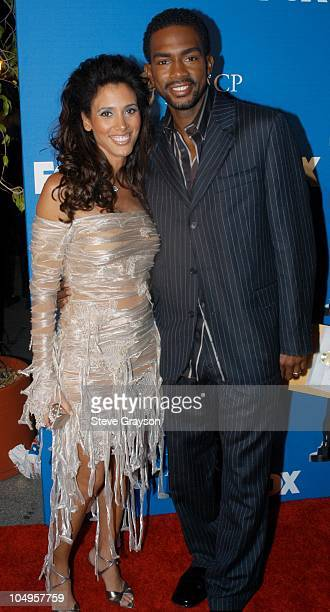 Bill Bellamy and Wife during The 34th NAACP Image Awards Arrivals at Universal Amphitheatre in Universal City California United States