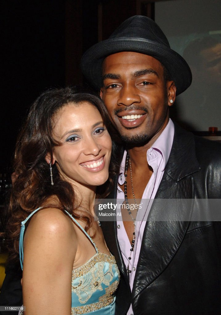 Bill Bellamy and wife Kristen Bellamy during Bill Bellamy Surprise 40th Birthday Party at Monroe's in West Hollywood, California, United States.