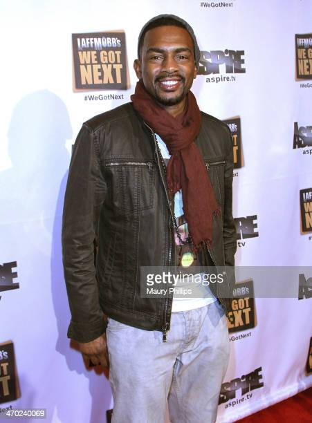 Bill Bellamy arrives at the Red Carpet Premiere of 'Laff Mobb's We Got Next' at The Comedy Store on February 18 2014 in West Hollywood California