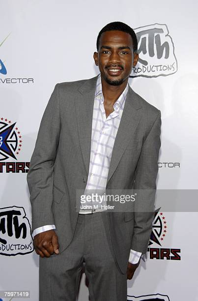 Bill Bellamy attends Baron Davis and Paul Pierce's LA Stars Rodeo Drive Experience on August 4 2007 on Rodeo Drive in Beverly Hills California