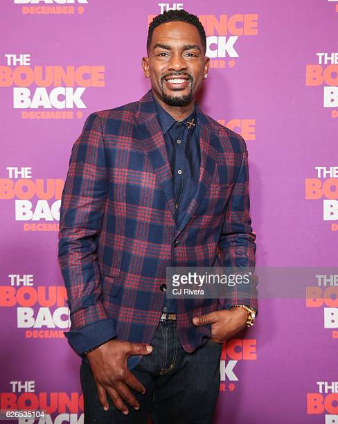 """Bill Bellamy attends """"The Bounce Back"""" New York screening at AMC Loews 34th Street 14 theater on November 29, 2016 in New York City."""