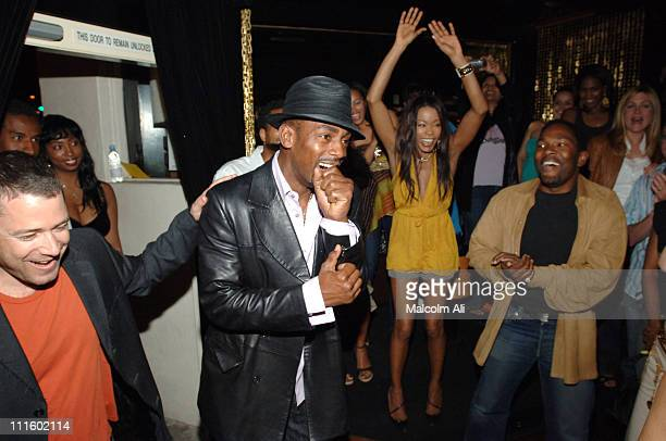 Bill Bellamy when surprised over his 40th birthday celebration with guests