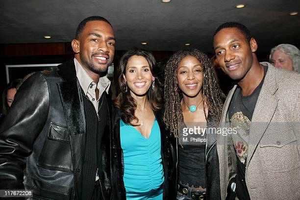 Bill Bellamy wife Kristin Robi Reed and Wil Young