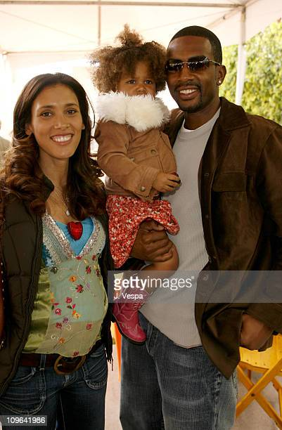 Bill Bellamy with his wife and kids during The John Varvatos 4th Annual Stuart House Charity Benefit Inside at John Varvatos Boutique in Los Angeles...