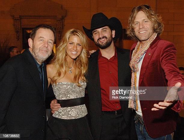 Bill Bennett executive VP Warner Bros Records Nashville artists Shannon Brown Ray Scott and Big Kenny of Big Rich