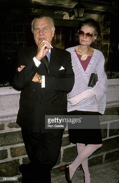 Bill Blass and Chessy Rayner
